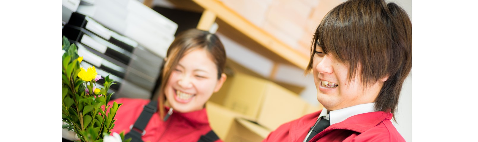 一つの笑顔が、自分にしかできない仕事に